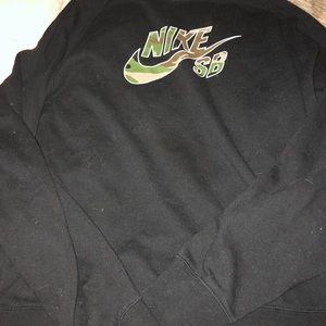 Nike SB camo sweatshirt
